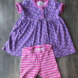 Hanna Anderson Dress and shorts